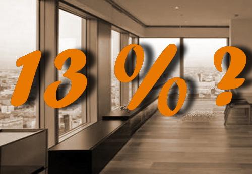 В настоящий момент налоговый вычет за покупку апартаментов невозможен