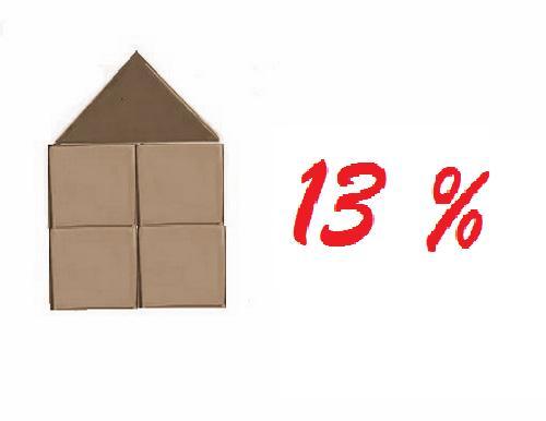 Для получения налогового вычета за квартиру в декрете необходимо наличие доходов, облагаемых по ставке 13 %