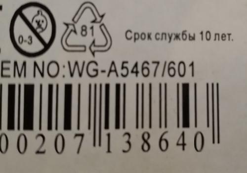 Информация об установленном сроке службы товара должна быть доведена до потребителя